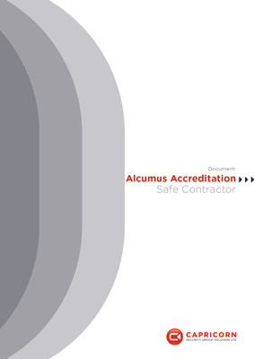 Capricorn Security Alcumus Safe Contractor