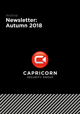 Capricorn Security: Newsletter Autumn 2018