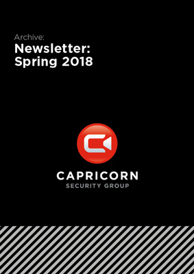 Capricorn Security: Newsletter Spring 2018