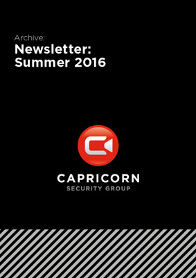 Capricorn Security: Newsletter Summer 2016