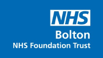 NHS Royal Bolton Hospital logo