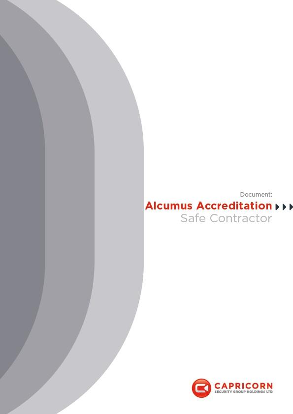 Capricorn Security Alcumus Safe Contractor Accreditation